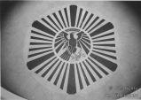 Adlermosaik im Foyer