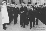 S.K.-Polizei Inspektion durch britische Offiziere-4